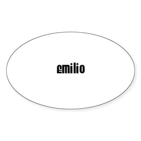 Emilio Oval Sticker