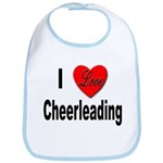 I Love Cheerleading Bib