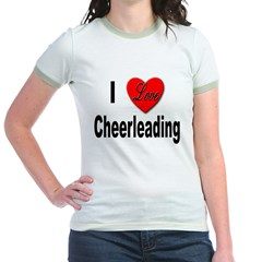 I Love Cheerleading (Front) T
