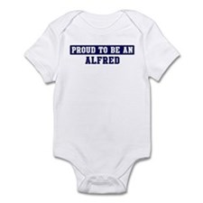 Proud to be Alfred Infant Bodysuit