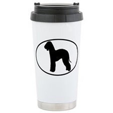 Bedlington Terrier SILHOUETTE Travel Mug