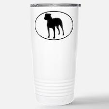 Pit Bull SILHOUETTE Travel Mug