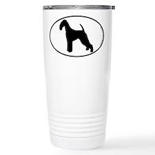 Airedale SILHOUETTE Travel Mug