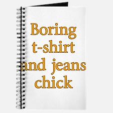 Boring T-Shirt Journal