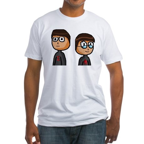 Alex and Gabe Fitted T-Shirt