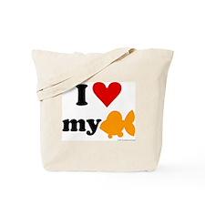 I love my goldfish Tote Bag