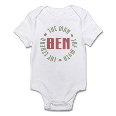 Ben Man Myth Legend Infant Bodysuit