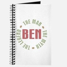Ben Man Myth Legend Journal
