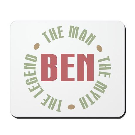 Ben Man Myth Legend Mousepad
