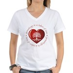 Labor Of Love Women's V-Neck T-Shirt