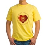 Labor Of Love Yellow T-Shirt