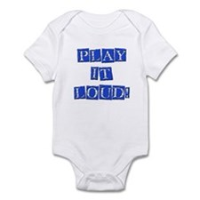 Play it Loud - Blue Infant Bodysuit