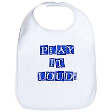 Play it Loud - Blue Bib
