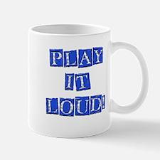 Play it Loud - Blue Mug
