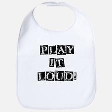 Play it Loud - Black Bib