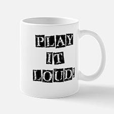 Play it Loud - Black Mug