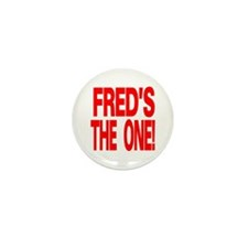 Fred's the One Mini Button Pack!