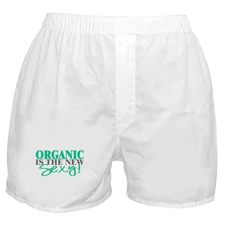 Organic Is The New Sexy! Boxer Shorts