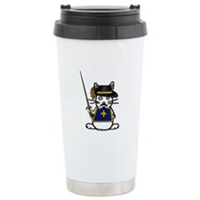 Musketeer Bunny Travel Mug
