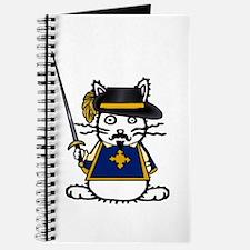 Musketeer Bunny Journal