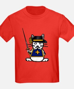 Musketeer Bunny Kids Color T-Shirt