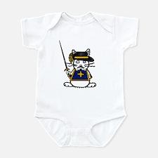 Musketeer Bunny Infant Bodysuit