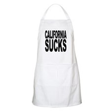 California Sucks BBQ Apron