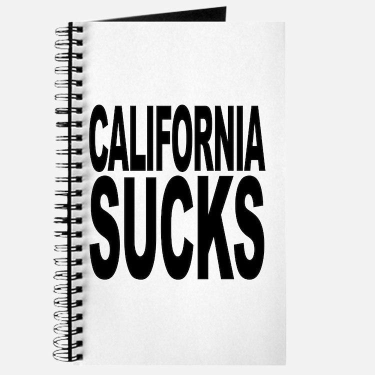 California Sucks Journal