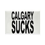 Calgary Sucks Rectangle Magnet