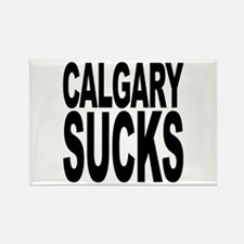 Calgary Sucks Rectangle Magnet