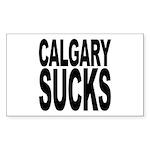 Calgary Sucks Rectangle Sticker 50 pk)