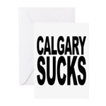 Calgary Sucks Greeting Cards (Pk of 10)