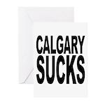 Calgary Sucks Greeting Cards (Pk of 20)