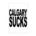 Calgary Sucks Mini Poster Print
