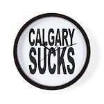 Calgary Sucks Wall Clock