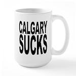 Calgary Sucks Large Mug