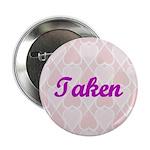 Taken Pink Hearts Button