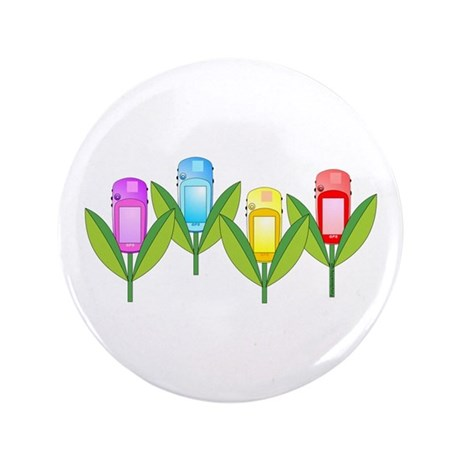 """GPS Flowers 3.5"""" Button (100 pack)"""