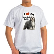I Love My Bearded Collie T-Shirt