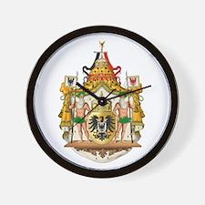 German Imperial Wall Clock