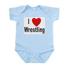 I Love Wrestling Infant Creeper
