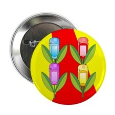"GPS Flowers 2.25"" Button (10 pack)"
