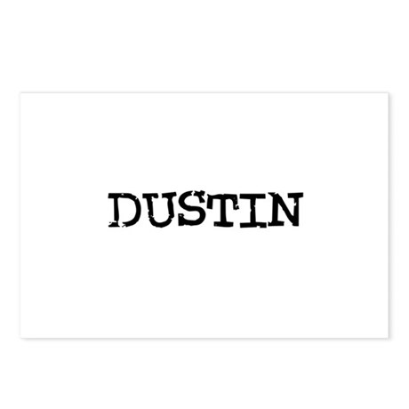 Dustin Postcards (Package of 8)