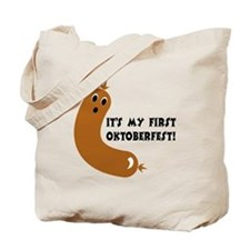 First Oktoberfest Tote Bag