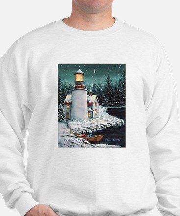 Christmas Lighthouse Sweatshirt