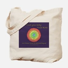 Trust Birth Labyrinth Tote Bag