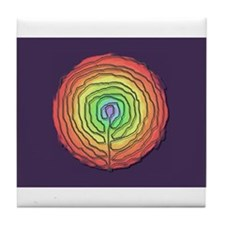 Trust Birth Labyrinth Tile Coaster