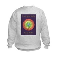 Trust Birth Labyrinth Sweatshirt