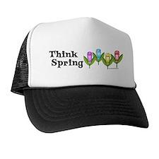 Think Spring GPS Trucker Hat