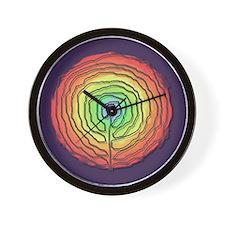 Trust Birth Labyrinth Wall Clock